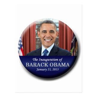 Barack Obama Einweihung 2013 Postkarte