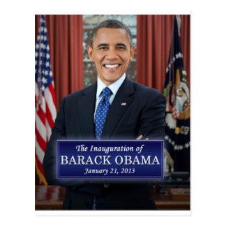 Barack Obama Einweihung 2013 Postkarten