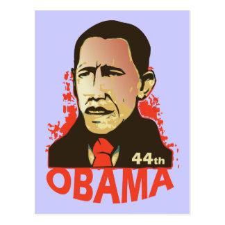 Barack Obama - Einweihung Postkarte