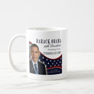Barack Obama Einweihungs-GedenkTasse 2013 Kaffeetasse