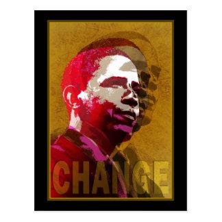 Barack Obama - Führung Postkarte