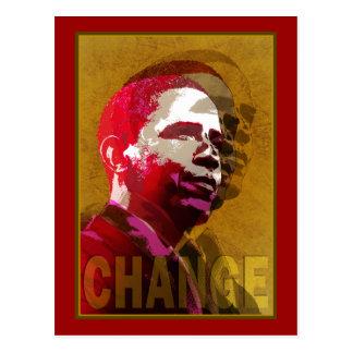 Barack Obama - Führung Postkarten