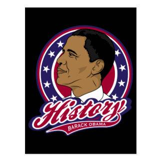 Barack Obama Geschichte Postkarten