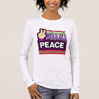 BARACK OBAMA GEWINNT WAHL LANGARM T-Shirt