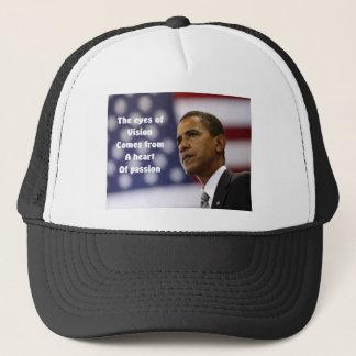 Barack Obama Herz der Leidenschaft Truckerkappe