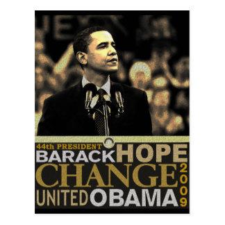 Barack Obama Hoffnung Postkarte