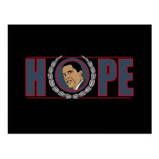 Barack Obama Hoffnung Postkarten