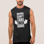Barack Obama kann diese Gewehre nicht nehmen Ärmellose T-Shirts