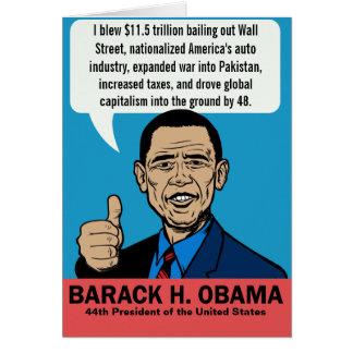 Barack Obama kundengerechte Karte
