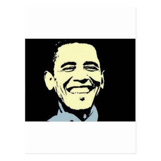 Barack Obama Kunst-Postkarte Postkarte