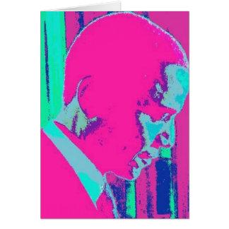 Barack Obama Kunstdruck Karte
