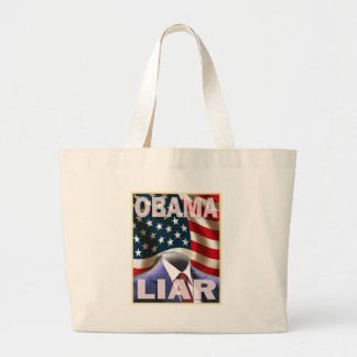 Barack Obama - leerer Anzug von Lügen Einkaufstaschen