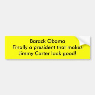 Barack Obama macht Jimmy Carter Blick gut Autoaufkleber