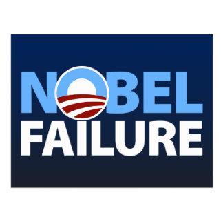 Barack Obama: Nobel-Ausfall Postkarte