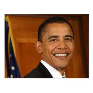 Barack Obama offizielles Porträt Postkarten