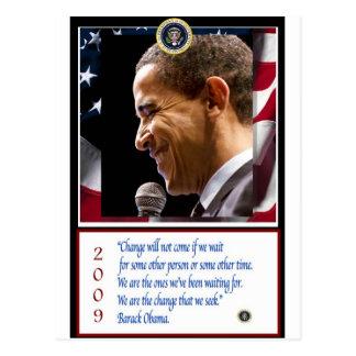 Barack Obama Plakat Postkarten