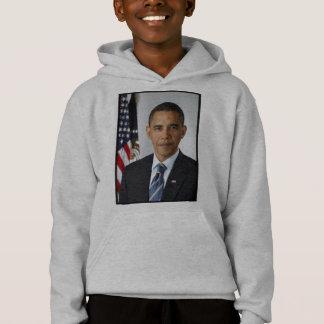 Barack Obama Präsidentenporträt Hoodie