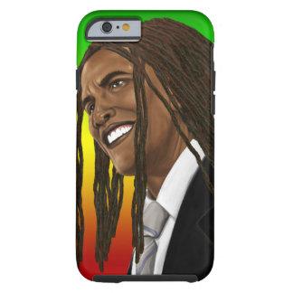 Barack Obama Rasta Reggae iPhone Tough iPhone 6 Hülle