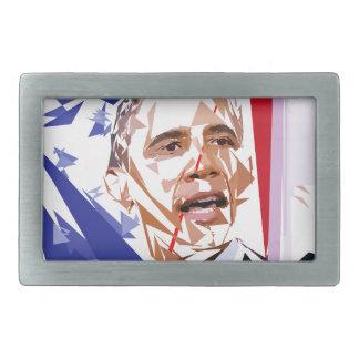 Barack Obama Rechteckige Gürtelschnalle