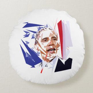 Barack Obama Rundes Kissen