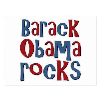 Barack Obama schaukelt T-Shirts und Geschenke Postkarte