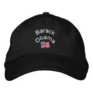 Barack Obama stickte Hut Besticktes Baseballcap