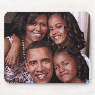 Barack Obama u. Family_Mousepad Mauspad
