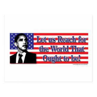 Barack Obama /USA Postkarte
