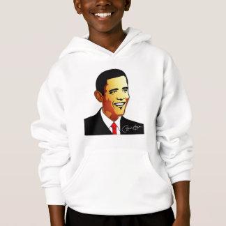 Barack Obama vektorillustration Hoodie