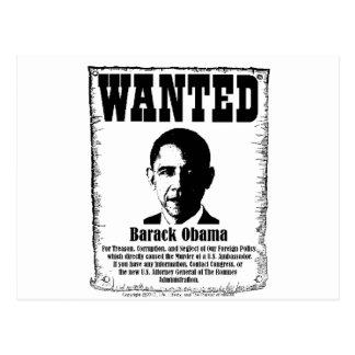 Barack Obama wollte Plakat Postkarten