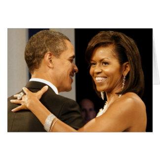 Barack u. Michele Obama Karte
