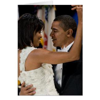 Barack und Michelle Obama Karte