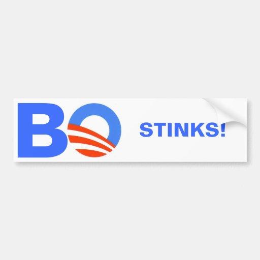 Barak Obama, GESTANK! Autosticker