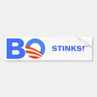 Barak Obama GESTANK Autosticker
