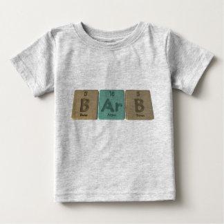 Barb als Bor-Argon-Bor Baby T-shirt