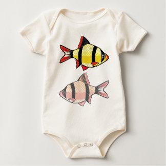 Barb-Aquariumfische Baby Strampler