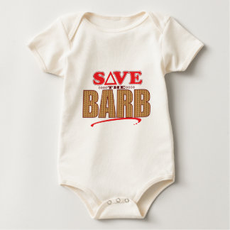 Barb retten baby strampler