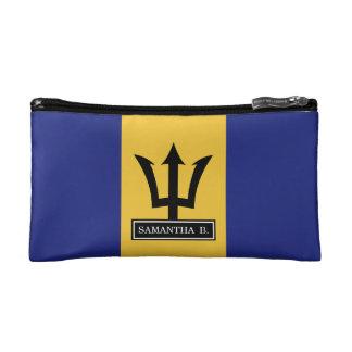 Barbados-Flagge Kosmetiktasche