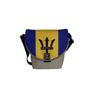 Barbados-Flagge Kuriertasche