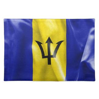 Barbados-Flagge Tischset