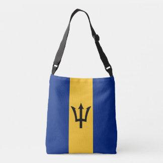 Barbados-Flagge Tragetaschen Mit Langen Trägern
