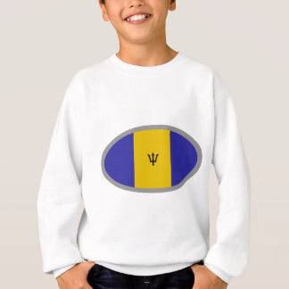 Barbados-Flaggenentwurf! Sweatshirt