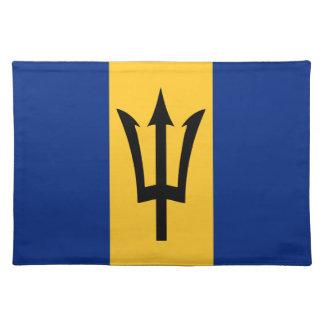 Barbados ganz über Entwurf Stofftischset