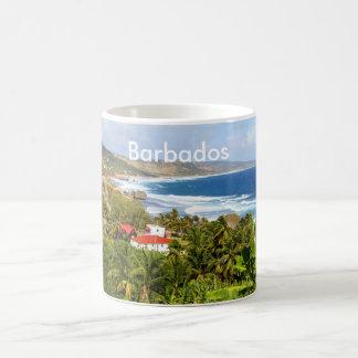 Barbados, Tasse, Ozean, tropisch, Strand, Palme Kaffeetasse