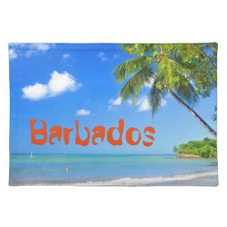 Barbados Tischset