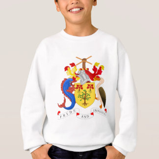 Barbados-Wappen Sweatshirt
