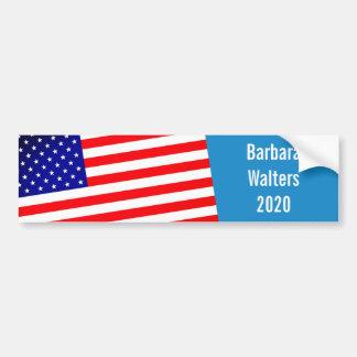 Barbara Walters für Präsidenten 2020 Autoaufkleber
