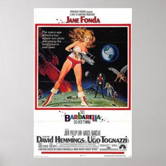 Barbarella Film-Plakat Poster