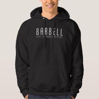 Barbell - Aufzug, erobern, wiederholen Hoodie