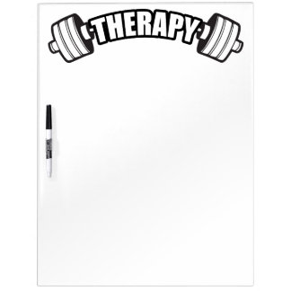 Barbell - THERAPIE - Training inspirierend Memoboard